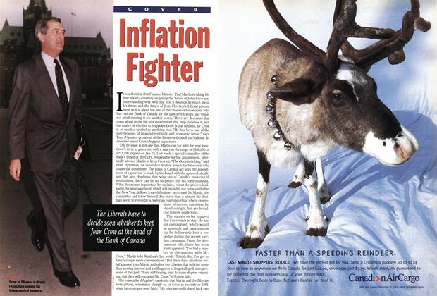 Article Preview: Inflation Fighter, December 1993 | Maclean's