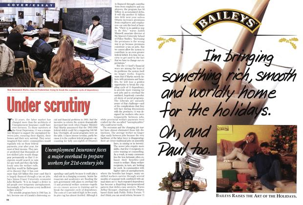 Article Preview: Under scrutiny, December 1993 | Maclean's