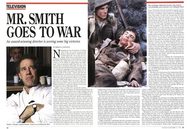 Article Preview: MR. SMITH GOES TO WAR, December 1993 | Maclean's