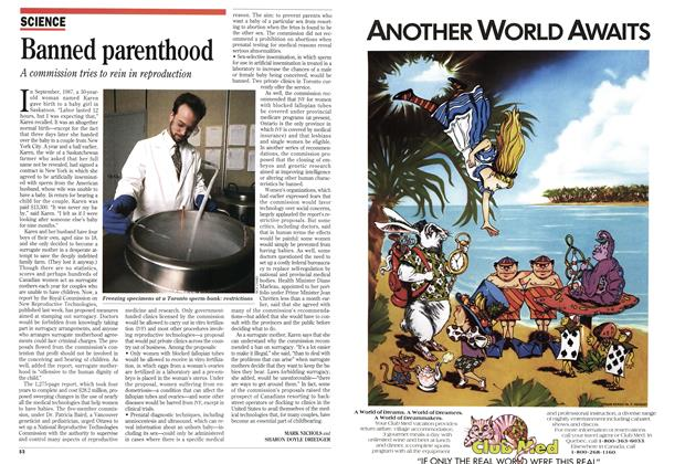 Article Preview: Banned parenthood, December 1993 | Maclean's