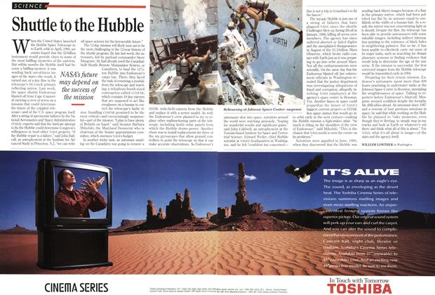 Article Preview: Shuttle to the Hubble, December 1993 | Maclean's
