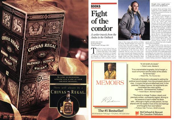 Article Preview: Fight of the condor, December 1993 | Maclean's