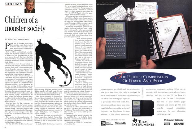Article Preview: Children of a monster society, December 1993 | Maclean's
