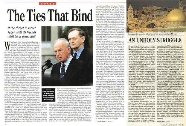 Article Preview: The Ties That Bind, December 1993 | Maclean's