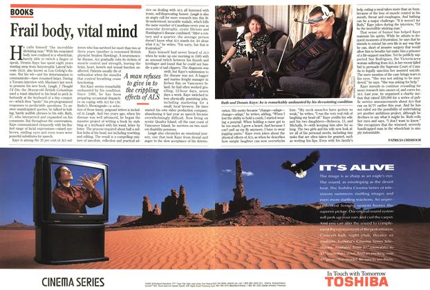 Article Preview: Frail body, vital mind, December 1993 | Maclean's