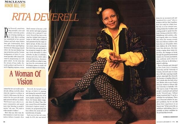 Article Preview: RITA DEVERELL, December 1993 | Maclean's