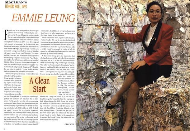 Article Preview: EMMIE LEUNG, December 1993 | Maclean's