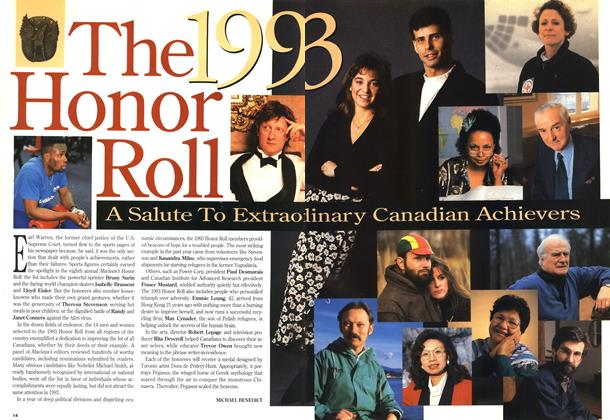 Article Preview: The 1993 Honor Roll, December 1993 | Maclean's
