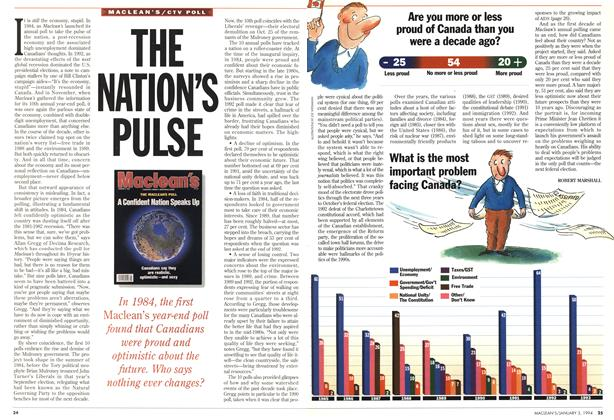 Article Preview: THE NATION'S PULSE, January 1994 | Maclean's