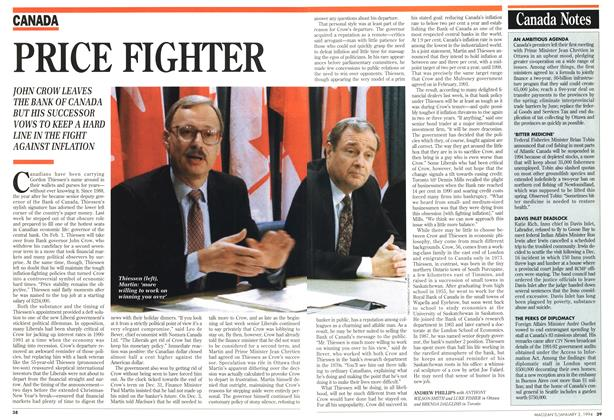 Article Preview: Canada Notes, January 1994 | Maclean's