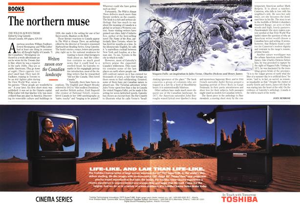 Article Preview: The northern muse, January 1994 | Maclean's