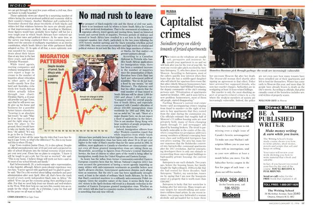 Article Preview: Capitalist crimes, January 1994 | Maclean's