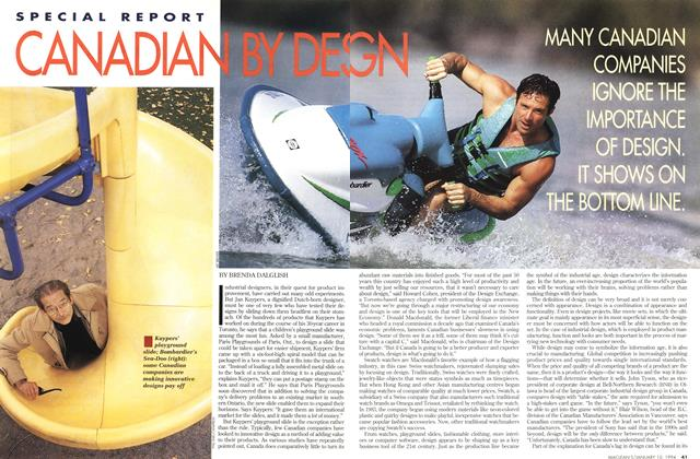 Article Preview: CANADIAN BY DESING, January 1994 | Maclean's