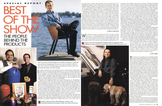 Article Preview: BEST OF THE SHOW, January 1994 | Maclean's