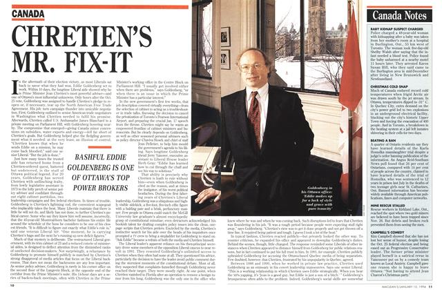 Article Preview: CHRETIEN'S MR. FIX-IT, January 1994 | Maclean's