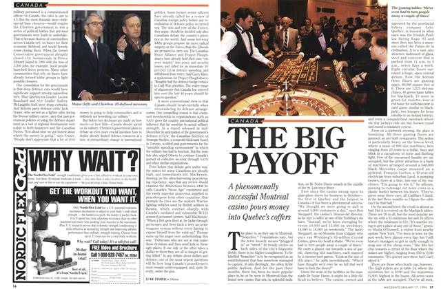 Article Preview: THE BIG PAYOFF, January 1994 | Maclean's