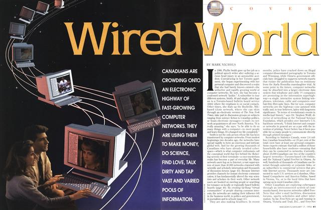Article Preview: Wired World, January 1994 | Maclean's