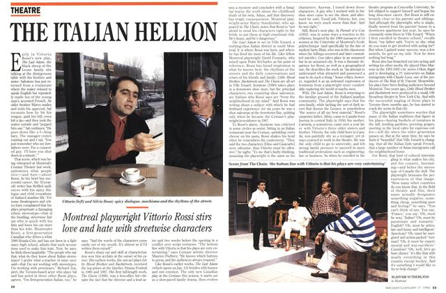 Article Preview: THE ITALIAN HELLION, January 1994 | Maclean's