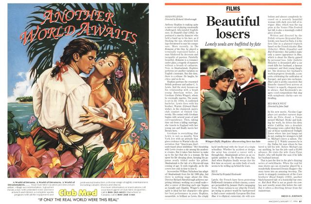 Article Preview: Beautiful losers, January 1994 | Maclean's