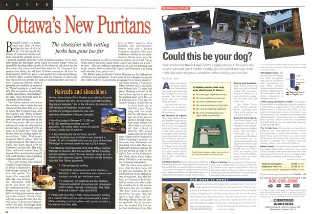 Article Preview: Ottawa's New Puritans, January 1994 | Maclean's