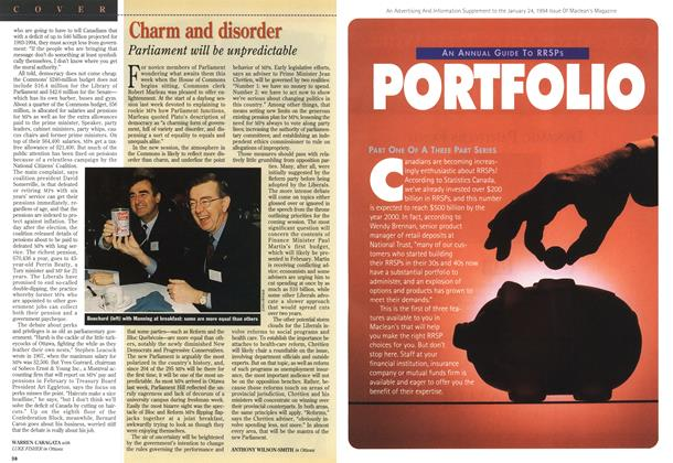 Article Preview: Charm and disorder, January 1994 | Maclean's