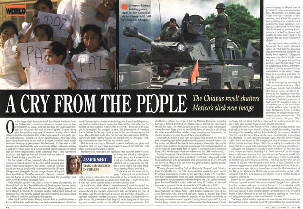 Article Preview: A CRY FROM THE PEOPLE, January 1994 | Maclean's