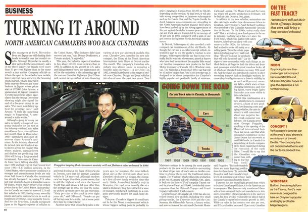Article Preview: TURNING IT AROUND, January 1994 | Maclean's