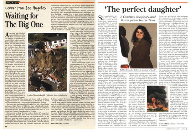 Article Preview: 'The perfect daughter', January 1994 | Maclean's