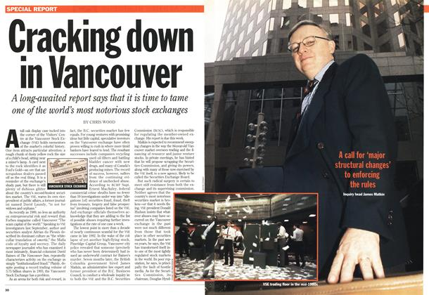 Article Preview: Cracking down in Vancouver, January 1994 | Maclean's