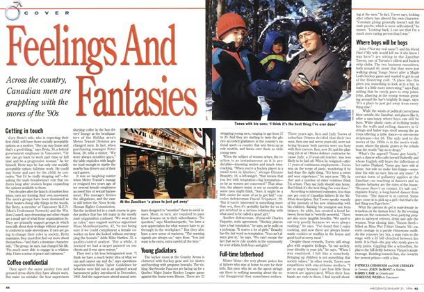 Article Preview: Feelings And Fantasies, January 1994 | Maclean's