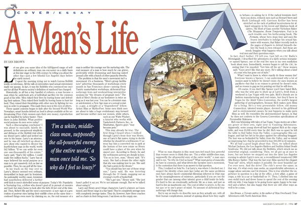 Article Preview: A Man's Life, January 1994 | Maclean's