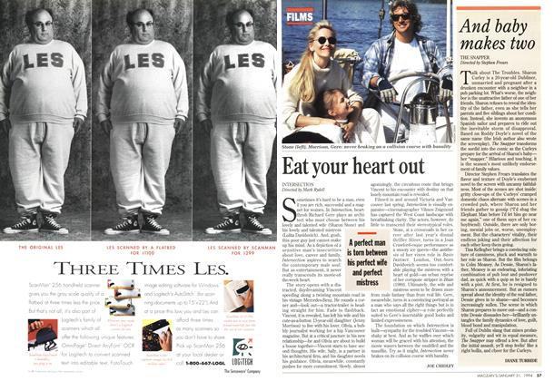 Article Preview: Eat your heart out, January 1994 | Maclean's