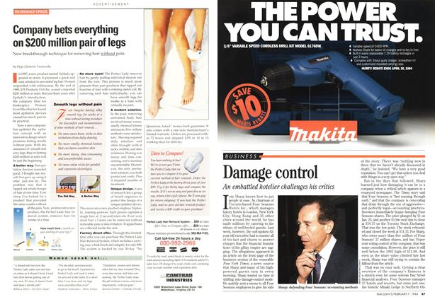Article Preview: Damage control, February 1994 | Maclean's