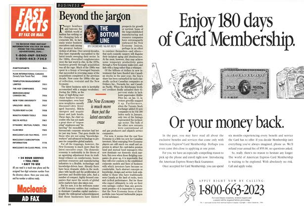 Article Preview: Beyond the jargon, February 1994 | Maclean's