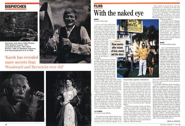 Article Preview: With the naked eye, February 1994 | Maclean's