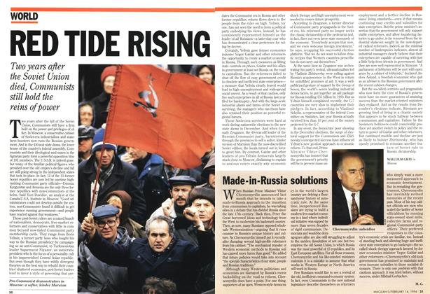 Article Preview: RED TIDE RISING, February 1994 | Maclean's