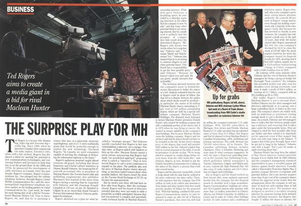 Article Preview: THE SURPRISE PLAT FOR MH, February 1994 | Maclean's