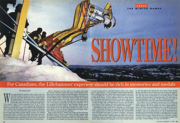 Article Preview: SHOWTIME!, February 1994 | Maclean's