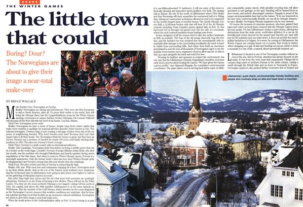 Article Preview: The little town that could, February 1994 | Maclean's