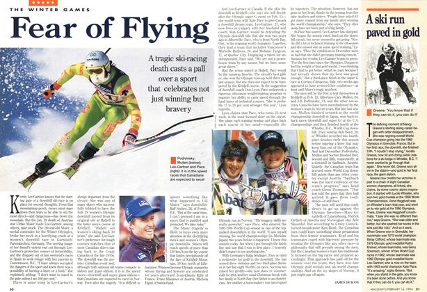 Article Preview: Fear of Flying, February 1994 | Maclean's