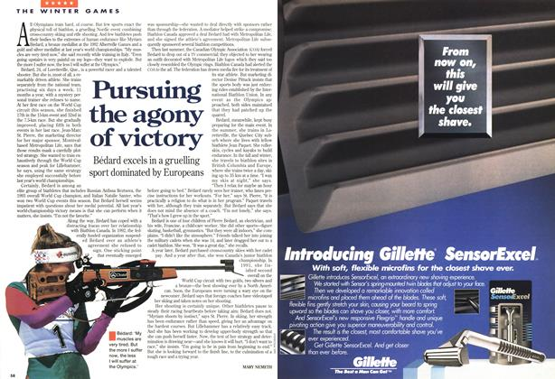 Article Preview: Pursuing the agony of victory, February 1994 | Maclean's