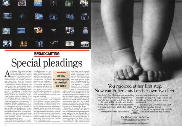 Article Preview: Special pleadings, FEBRUARY 21 , 1 994 1994 | Maclean's