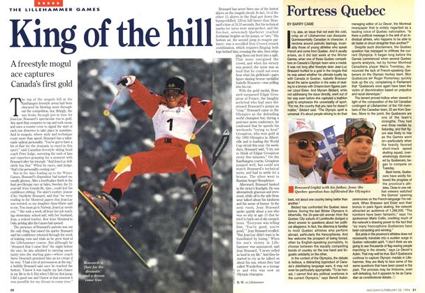 Article Preview: Fortress Quebec, February 1994 | Maclean's