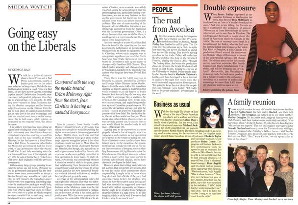 Article Preview: Going easy on the Liberals, February 1994 | Maclean's