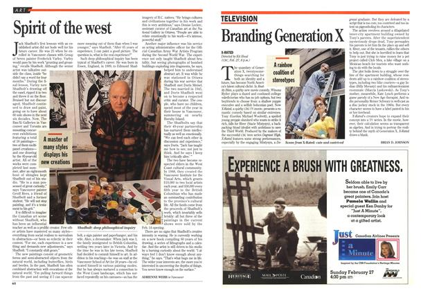 Article Preview: Spirit of the west, February 1994 | Maclean's