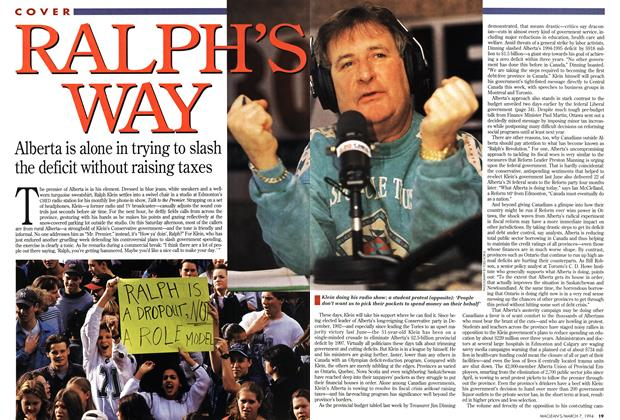 Article Preview: RALPH'S WAY, March 1994 | Maclean's