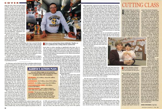Article Preview: CUTTING CLASS, March 1994 | Maclean's