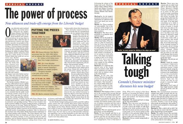 Article Preview: The power of process, March 1994 | Maclean's