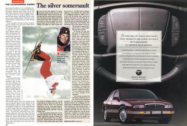 Article Preview: The silver somersault, March 1994 | Maclean's