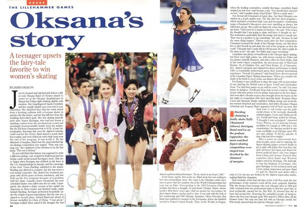 Article Preview: Oksana's story, March 1994 | Maclean's